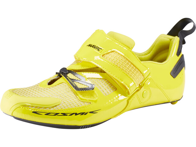 Mavic Cosmic Ultimate Tri Sko Herrer gul | Running shoes